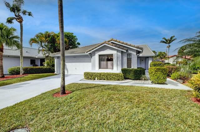 10533 Mendocino Lane, Boca Raton, FL 33428 (MLS #RX-10685556) :: Berkshire Hathaway HomeServices EWM Realty