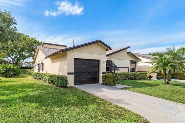 3 Ridge Pointe Drive A, Boynton Beach, FL 33435 (MLS #RX-10685832) :: The Jack Coden Group
