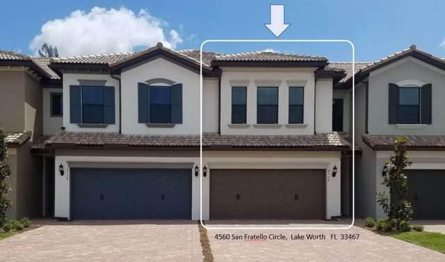 4560 San Fratello Circle, Lake Worth, FL 33467 (MLS #RX-10685966) :: Laurie Finkelstein Reader Team