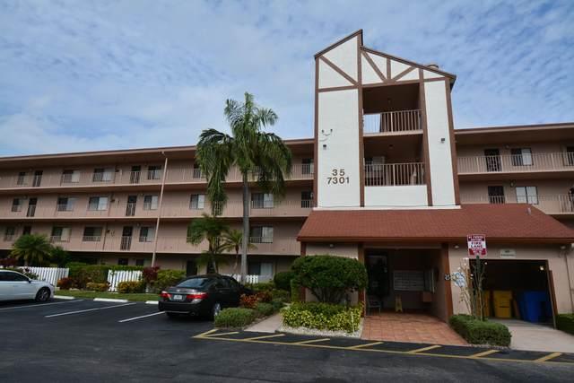 7301 Amberly Lane #404, Delray Beach, FL 33446 (#RX-10686062) :: Signature International Real Estate