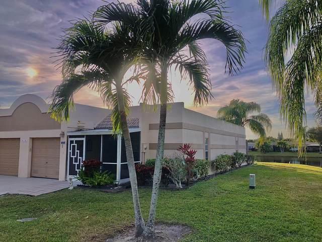 18761 Haywood Terrace #1, Boca Raton, FL 33496 (#RX-10686323) :: Dalton Wade