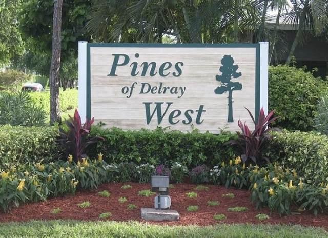 2860 SW 13 Street #202, Delray Beach, FL 33445 (#RX-10686428) :: Dalton Wade