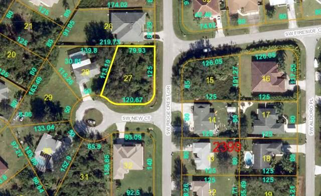 138 SW Ridgecrest Drive, Port Saint Lucie, FL 34953 (MLS #RX-10686538) :: Castelli Real Estate Services