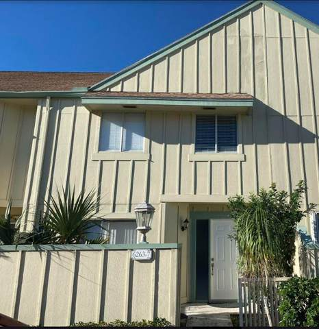 6263 Riverwalk Lane #7, Jupiter, FL 33458 (MLS #RX-10686563) :: Castelli Real Estate Services