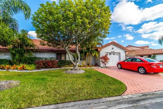 5499 San Marino Way, Lake Worth, FL 33467 (MLS #RX-10686625) :: Berkshire Hathaway HomeServices EWM Realty