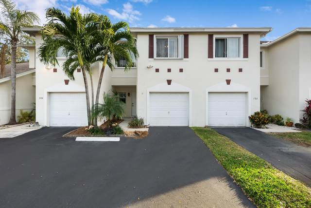 748 NW 42nd Place #748, Deerfield Beach, FL 33064 (MLS #RX-10686700) :: Berkshire Hathaway HomeServices EWM Realty