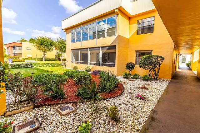 502 Piedmont K, Delray Beach, FL 33484 (#RX-10686955) :: The Reynolds Team/ONE Sotheby's International Realty