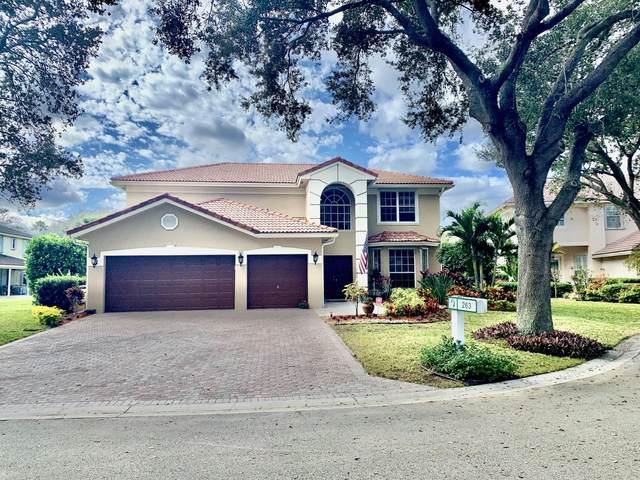 263 Cocoplum Drive N, Jupiter, FL 33458 (MLS #RX-10687335) :: Berkshire Hathaway HomeServices EWM Realty