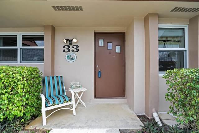 5725 Fernly Drive E #33, West Palm Beach, FL 33415 (MLS #RX-10687488) :: Laurie Finkelstein Reader Team