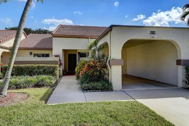 5710 Parkwalk Circle E, Boynton Beach, FL 33472 (#RX-10687936) :: Signature International Real Estate