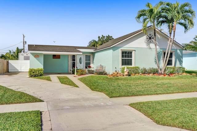 525 Flotilla Road, North Palm Beach, FL 33408 (#RX-10687978) :: Posh Properties