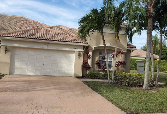 2477 Sandy Cay, West Palm Beach, FL 33411 (MLS #RX-10688077) :: The Paiz Group
