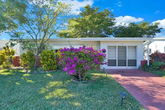 1465 NW 69th Avenue, Margate, FL 33063 (MLS #RX-10688547) :: Berkshire Hathaway HomeServices EWM Realty