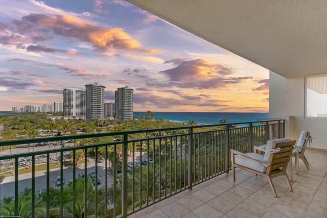 3800 N Ocean Drive #801, Singer Island, FL 33404 (#RX-10688931) :: Signature International Real Estate