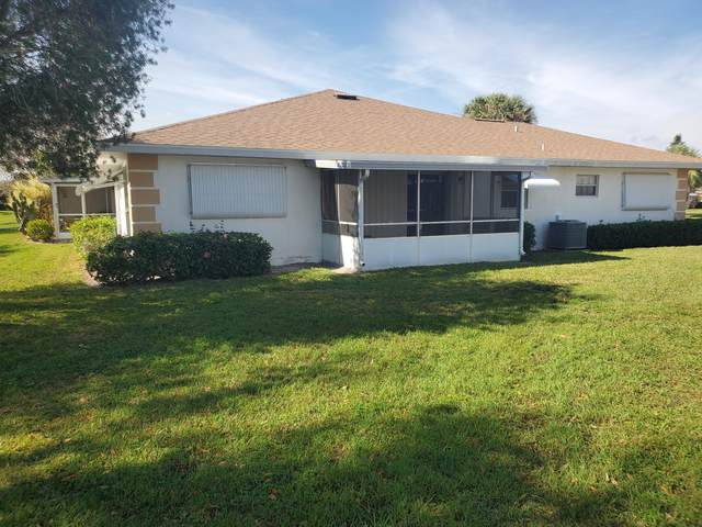 833 Timberview Drive A, Fort Pierce, FL 34982 (#RX-10689061) :: The Rizzuto Woodman Team