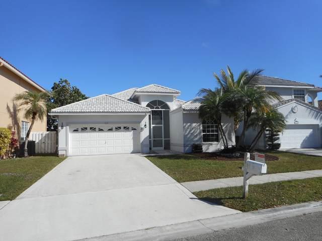 7610 Santee Terrace #7610, Lake Worth, FL 33467 (MLS #RX-10689336) :: United Realty Group