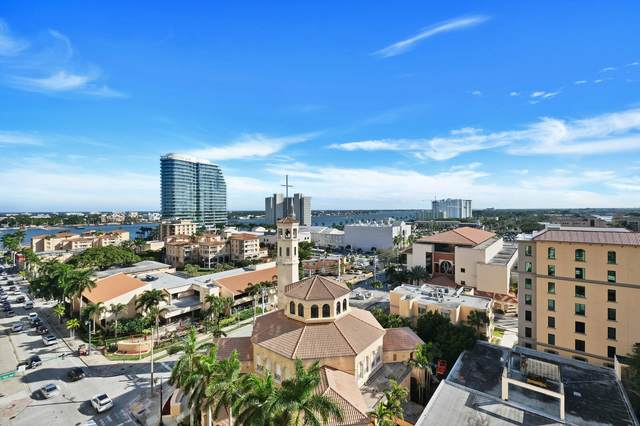 801 S Olive Avenue #803, West Palm Beach, FL 33401 (#RX-10689400) :: The Power of 2   Century 21 Tenace Realty