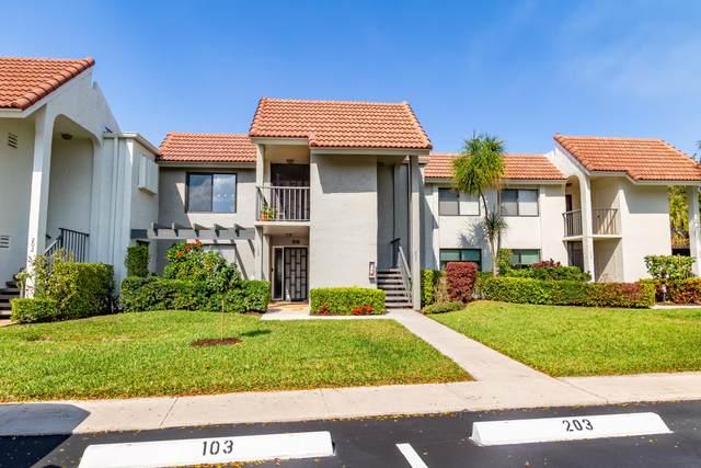 5540 Fairway Park Drive #203, Boynton Beach, FL 33437 (#RX-10689518) :: The Power of 2 | Century 21 Tenace Realty