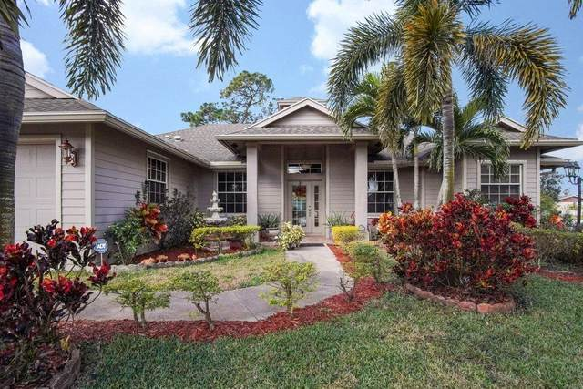 3402 SW San Benito Street, Port Saint Lucie, FL 34953 (MLS #RX-10689566) :: Castelli Real Estate Services