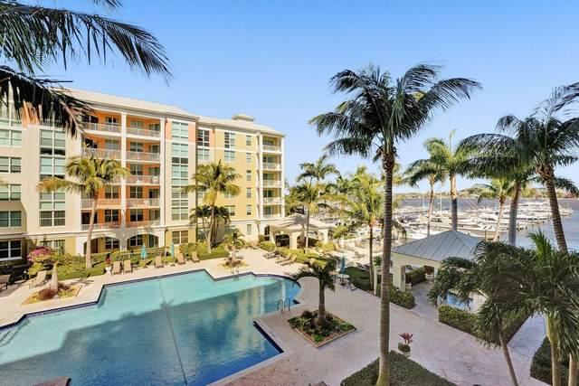806 E Windward Way #320, Lantana, FL 33462 (MLS #RX-10690115) :: Berkshire Hathaway HomeServices EWM Realty