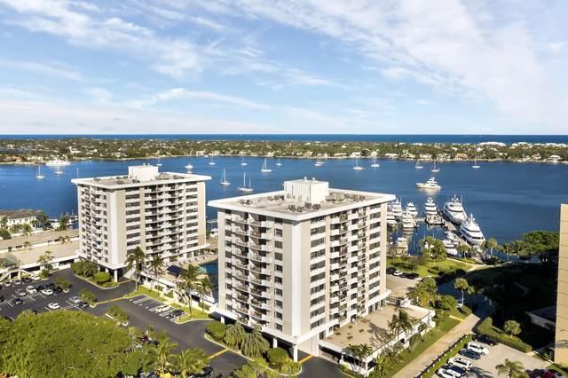 1200 Marine Way #406, North Palm Beach, FL 33408 (#RX-10690218) :: Baron Real Estate