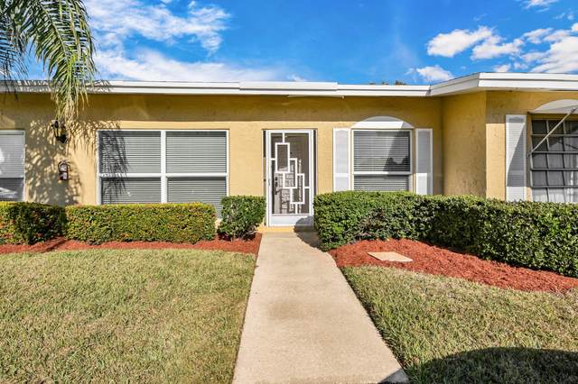 13727 Flora Place C, Delray Beach, FL 33484 (#RX-10690235) :: Signature International Real Estate