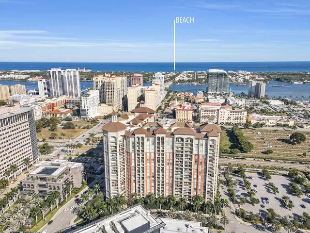 550 Okeechobee Boulevard #402, West Palm Beach, FL 33401 (#RX-10690704) :: The Power of 2 | Century 21 Tenace Realty