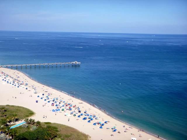 111 Briny Avenue #2703, Pompano Beach, FL 33062 (MLS #RX-10691625) :: United Realty Group