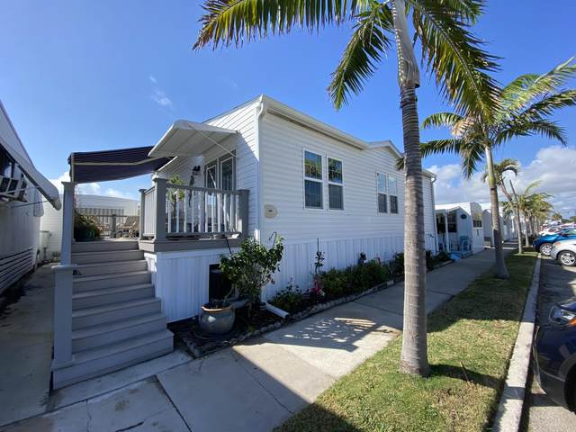 14 Cordova Avenue L, Briny Breezes, FL 33435 (MLS #RX-10691694) :: Berkshire Hathaway HomeServices EWM Realty