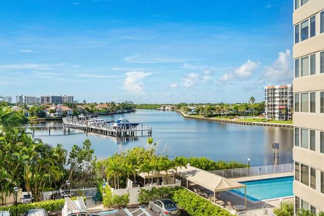 3912 S Ocean Boulevard #404, Highland Beach, FL 33487 (#RX-10691990) :: Posh Properties