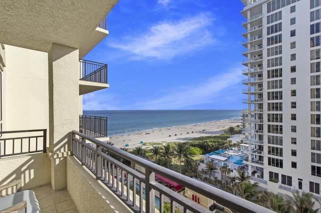 3800 N Ocean Drive #1012, Singer Island, FL 33404 (#RX-10692107) :: Signature International Real Estate