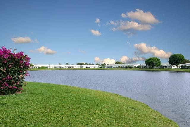 101 Leisure Lake Circle #104, Boynton Beach, FL 33426 (MLS #RX-10692299) :: The Jack Coden Group