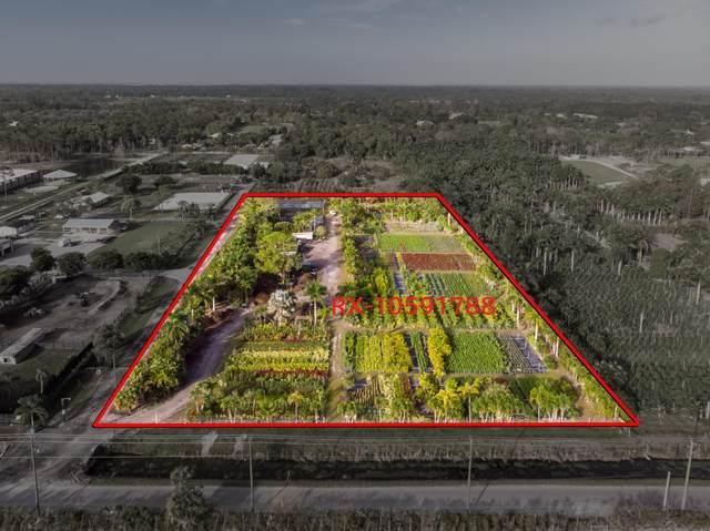 2141 C Road (5 Acres), Loxahatchee Groves, FL 33470 (#RX-10692399) :: Posh Properties