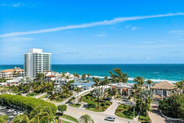 3606 S Ocean Boulevard #1003, Highland Beach, FL 33487 (#RX-10692526) :: Posh Properties