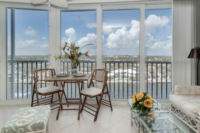 3310 S Ocean Boulevard 1027-D, Highland Beach, FL 33487 (#RX-10692703) :: Signature International Real Estate