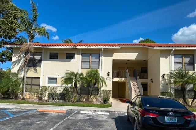 1600 Balfour Point Drive F, West Palm Beach, FL 33411 (MLS #RX-10692767) :: Berkshire Hathaway HomeServices EWM Realty