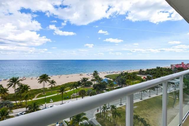 111 N Pompano Beach Boulevard #814, Pompano Beach, FL 33062 (#RX-10693172) :: Signature International Real Estate