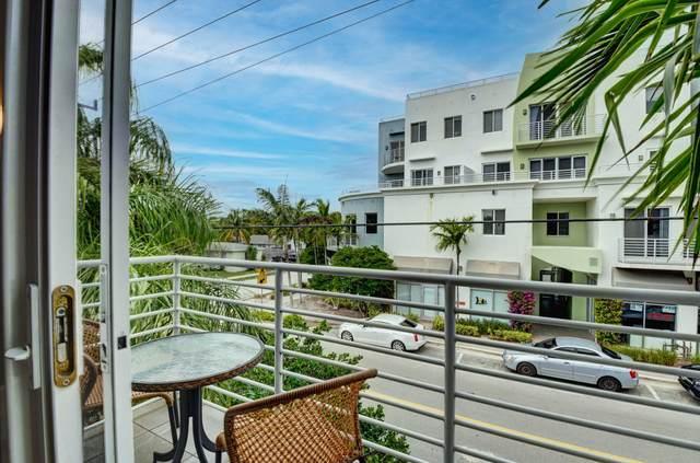 110 SE 2nd Street #201, Delray Beach, FL 33444 (MLS #RX-10693301) :: Berkshire Hathaway HomeServices EWM Realty