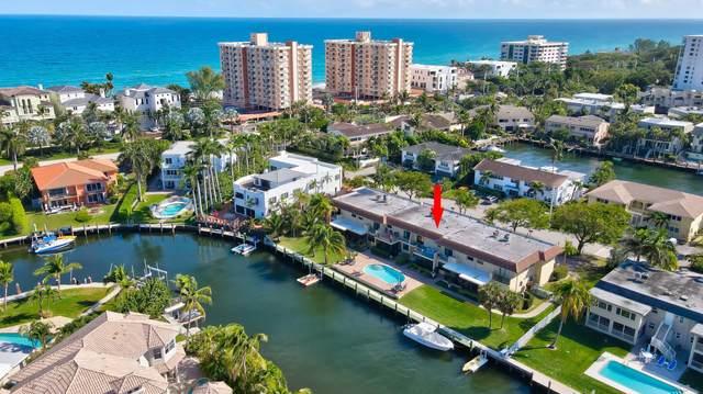 1109 Bel Air Drive #3, Highland Beach, FL 33487 (#RX-10693368) :: The Reynolds Team/ONE Sotheby's International Realty