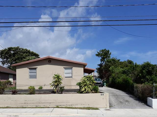 836 Dr Martin Luther King Jr Boulevard, Riviera Beach, FL 33404 (#RX-10693542) :: The Power of 2 | Century 21 Tenace Realty