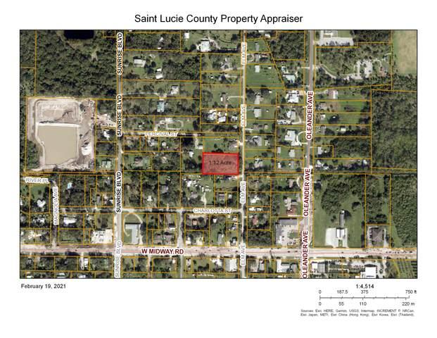 4807 Elm Street, Fort Pierce, FL 34982 (MLS #RX-10693576) :: The Paiz Group