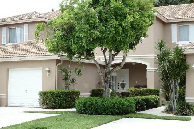 4743 Pinemore Lane Lane, Lake Worth, FL 33463 (MLS #RX-10693852) :: Castelli Real Estate Services