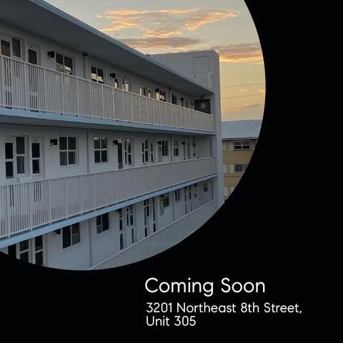 3201 NE 8th Street #305, Pompano Beach, FL 33062 (#RX-10693961) :: Realty One Group ENGAGE
