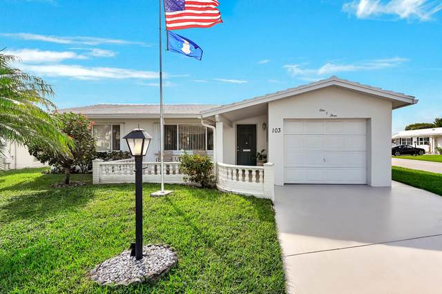 103 SW 8th Place, Boynton Beach, FL 33426 (#RX-10694122) :: Realty One Group ENGAGE