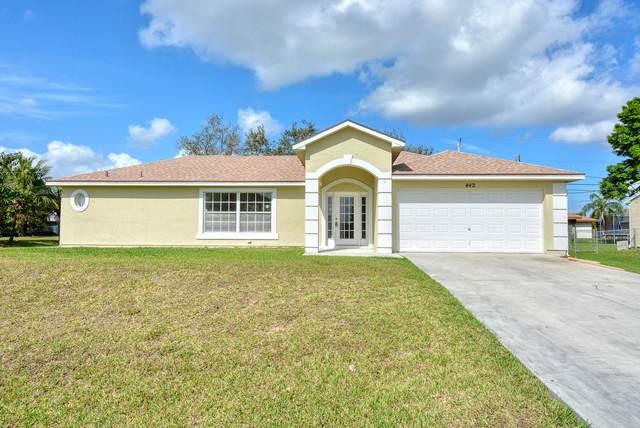 442 SE Cork Rd. Road, Port Saint Lucie, FL 34984 (MLS #RX-10694179) :: Castelli Real Estate Services