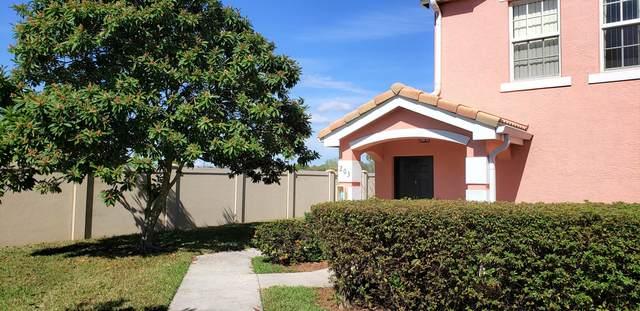 162 SW Peacock Boulevard 32-203, Port Saint Lucie, FL 34986 (#RX-10694192) :: Real Treasure Coast