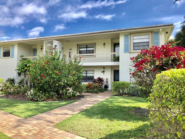 28 Westgate 28D Lane 28D, Boynton Beach, FL 33436 (#RX-10694218) :: Signature International Real Estate