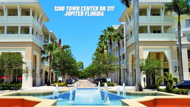 1200 Town Center Drive #317, Jupiter, FL 33458 (#RX-10694401) :: The Power of 2 | Century 21 Tenace Realty