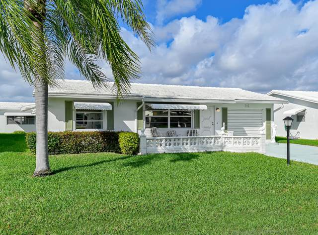 515 SW 19th Street, Boynton Beach, FL 33426 (#RX-10694931) :: The Rizzuto Woodman Team