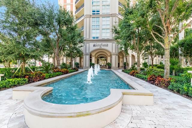 550 Okeechobee Boulevard #910, West Palm Beach, FL 33401 (#RX-10694977) :: The Power of 2 | Century 21 Tenace Realty